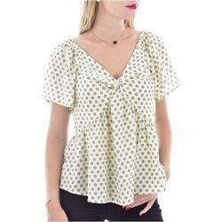 Textiel Dames Tops / Blousjes See U Soon 20116121B Groen