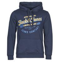 Textiel Heren Sweaters / Sweatshirts Jack & Jones JJEJEANS Marine