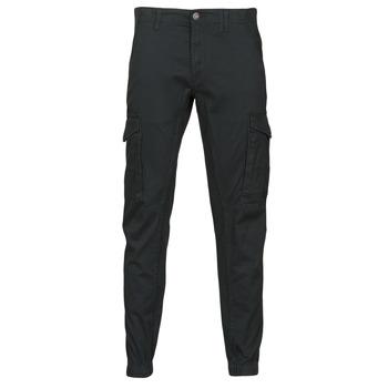 Textiel Heren Cargobroek Jack & Jones JJIPAUL Zwart