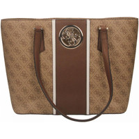 Tassen Dames Tote tassen / Boodschappentassen Guess OPEN ROAD TOTE brown