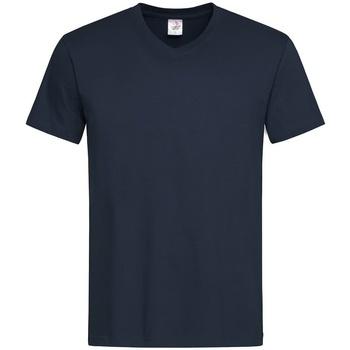 Textiel Heren T-shirts korte mouwen Stedman  Donkerblauw
