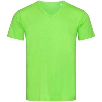 Textiel Heren T-shirts korte mouwen Stedman Stars  Groen