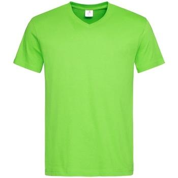 Textiel Heren T-shirts korte mouwen Stedman  Lichtgroen