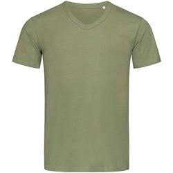 Textiel Heren T-shirts korte mouwen Stedman Stars  Grijs