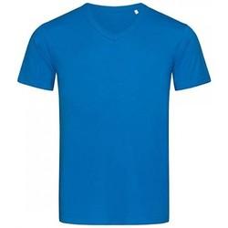 Textiel Heren T-shirts korte mouwen Stedman Stars  Blauw