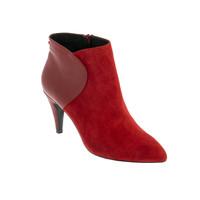 Schoenen Dames Laarzen André ROSALINE Rood