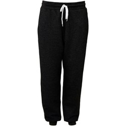 Textiel Trainingsbroeken Bella + Canvas CA3727 Zwart