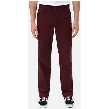Textiel Heren Chino's Dickies S/stght work pant Bordeau