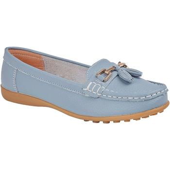 Schoenen Dames Mocassins Boulevard  Babyblauw