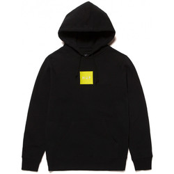 Textiel Heren Sweaters / Sweatshirts Huf Sweat hood box logo Zwart