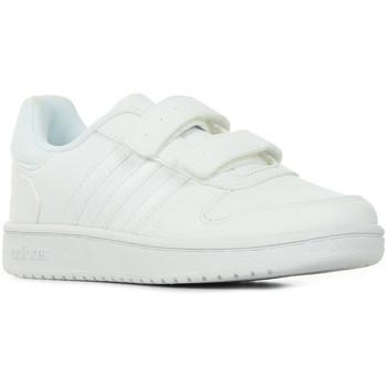 Schoenen Kinderen Lage sneakers adidas Originals Hoops 2.0 CMF C Wit