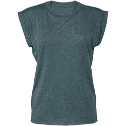 Textiel Dames T-shirts korte mouwen Bella + Canvas BE8804 Heide Wintertaling
