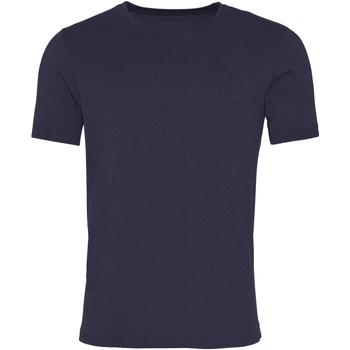 Textiel Heren T-shirts korte mouwen Awdis JT099 Gewassen nieuwe Franse marine