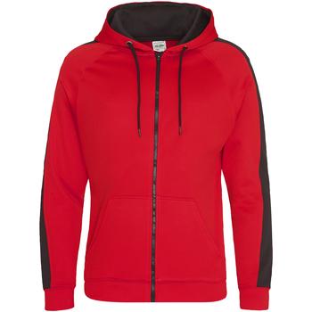 Textiel Heren Sweaters / Sweatshirts Awdis JH066 Brand Rood/Jet Zwart