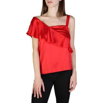 Textiel Dames Tops / Blousjes EAX - 3zyh35ynbtz Rood