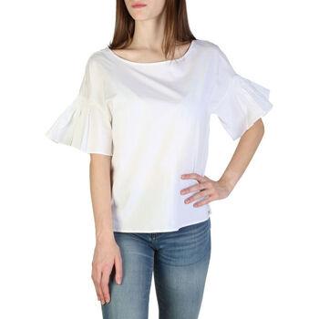 Textiel Dames Tops / Blousjes EAX - 3zyh09ynp9z Wit