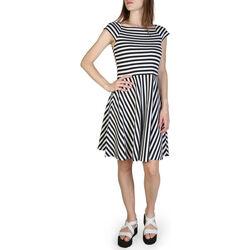 Textiel Dames Korte jurken EAX - 3zya84yjj5z Wit
