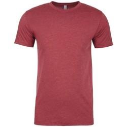 Textiel Heren T-shirts korte mouwen Next Level NX6210 Kardinaal Rood