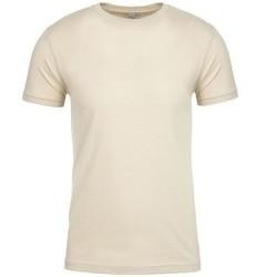 Textiel T-shirts korte mouwen Next Level NX3600 Crème