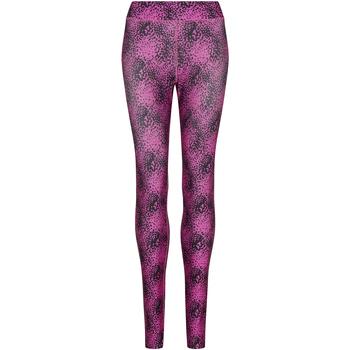 Textiel Dames Leggings Awdis JC077 Gespikkeld Roze
