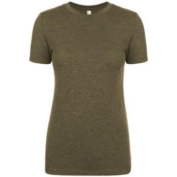 Textiel Dames T-shirts korte mouwen Next Level NX6710 Militair Groen