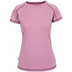 Textiel Dames T-shirts korte mouwen Trespass Viktoria Lila Haze