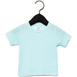 Textiel Kinderen T-shirts korte mouwen Canvas CA3413T Ijsblauwe Triblend