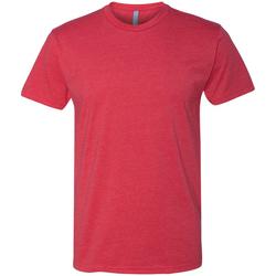 Textiel Heren T-shirts korte mouwen Next Level NX6210 Rood