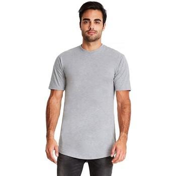 Textiel Heren T-shirts korte mouwen Next Level NX3602 Heide Grijs