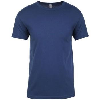 Textiel T-shirts korte mouwen Next Level NX3600 Koel Blauw