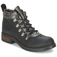 Schoenen Dames Laarzen Casual Attitude MIZATTE Zwart