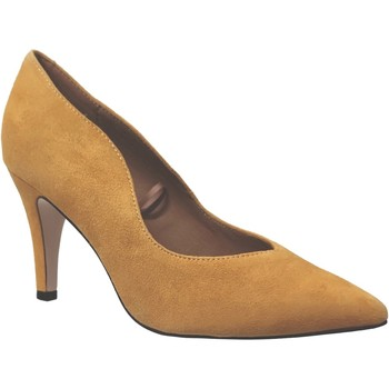 Schoenen Dames pumps Caprice 9-22412-25 fluweelgeel