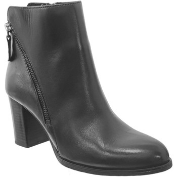 Schoenen Dames Enkellaarzen Caprice 9-25344-25 Zwart leer