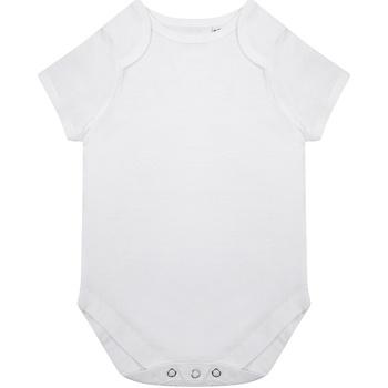 Textiel Kinderen Jumpsuites / Tuinbroeken Larkwood LW655 Wit