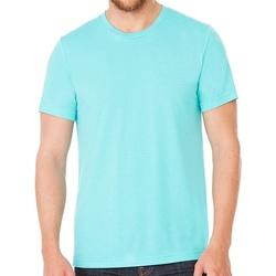 Textiel T-shirts korte mouwen Bella + Canvas CV3413 Zeegroene Triblend