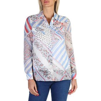 Textiel Dames Overhemden Tommy Hilfiger - ww0ww18336 Wit