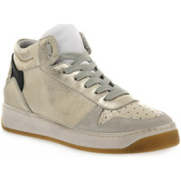 Schoenen Dames Allround At Go GO 584 VELOUR GHIACCIO Bianco