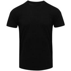 Textiel Heren T-shirts korte mouwen Awdis JT001 Massief zwart