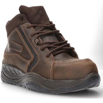 Schoenen Heren Hoge sneakers Calzamedi VEILIGHEIDSLAARS COFRA ESALEN S3 SAGUYS M BRUIN