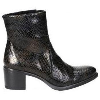 Schoenen Dames Enkellaarzen Dorking BOTINES  D8355 SEÑORA NEGRO Noir