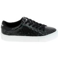 Schoenen Dames Lage sneakers No Name Arcade Print Kobra Noir Vert Fonce Zwart