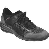 Schoenen Dames Lage sneakers Mobils By Mephisto Sidonia Zwart / grijs