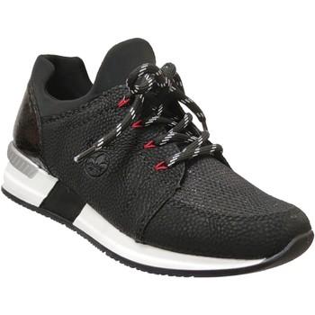 Schoenen Dames Lage sneakers Rieker N7670 Zwart