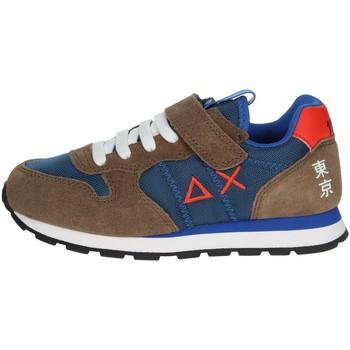 Schoenen Kinderen Lage sneakers Sun68 Z40305 Brown/Blue