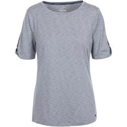 Textiel Dames T-shirts korte mouwen Trespass  Grijs