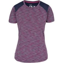 Textiel Dames T-shirts korte mouwen Trespass  Paars