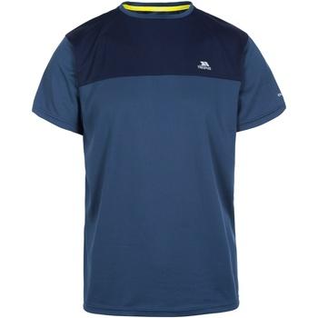 Textiel Heren T-shirts korte mouwen Trespass  Navy