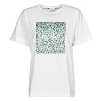 Textiel Dames T-shirts korte mouwen Aigle RAOPTELIB Wit