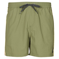 Textiel Heren Zwembroeken/ Zwemshorts Quiksilver BEACH PLEASE VOLLEY 16 Kaki