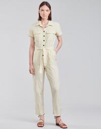 Textiel Dames Jumpsuites / Tuinbroeken Roxy BEACH WONDERLAND Wit